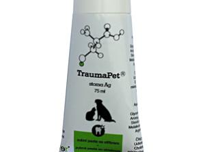TraumaPet stoma Ag je veterinární přípravek pro čištění zubů s obsahem nanostříbra. Má výborné abrazivní účinky pro odstranění plaku a jemnou masovou příchuť.